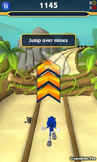 Tải Sonic Dash 2 Sonic Boom Hack Tiền Cho Android