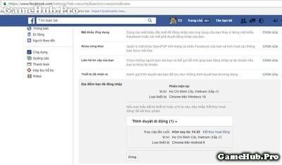 Hướng dẫn cách đăng xuất tài khoản từ xa trên Facebook