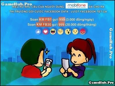 Hướng dẫn đăng ký gói Facebook của Mobifone ngày, tháng
