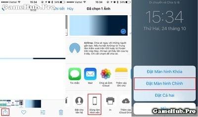 Hướng dẫn đổi giao diện đẹp cho iOS 10 chưa Jailbreak