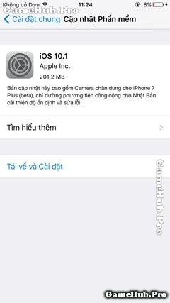 Đã có iOS 10.1 cập nhật thêm tính năng Portrait Mode