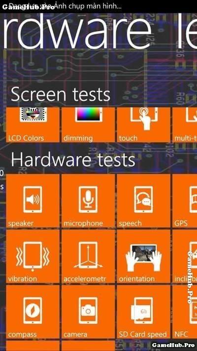 Mẹo kiểm tra phần cứng tổng quát điện thoại Windows Phone