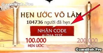 Hướng dẫn nhận code Hẹn Ước trong Võ Lâm Truyền Kỳ Mobile