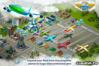 Tải game Airport City - Xây sân bay Hack Tiền Android