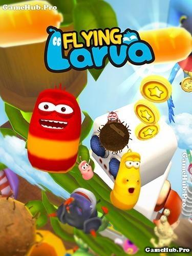 Tải game Flying LARVA - Vượt thử thách cho Android