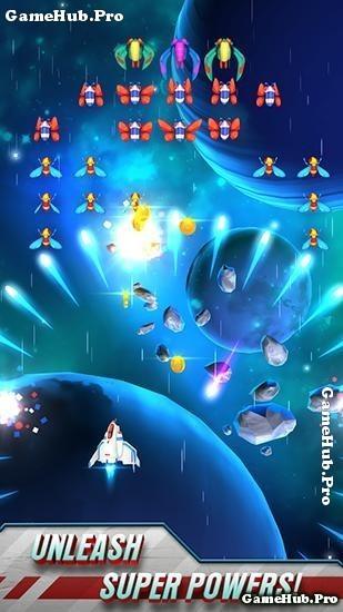 Tải game Galaga Wars - Bắn máy bay Mod tiền Android
