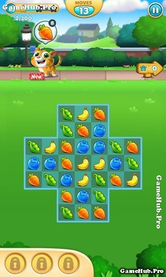 Tải game Hungry Babies Mania - Xếp hoa Quả Mod Android