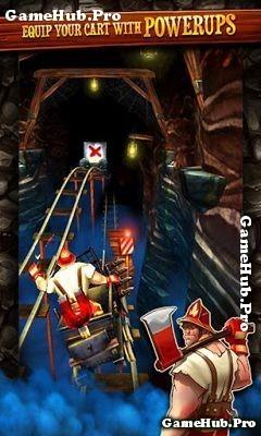Tải game Rail Rush Mod - Phiêu lưu thu thập Vàng Android