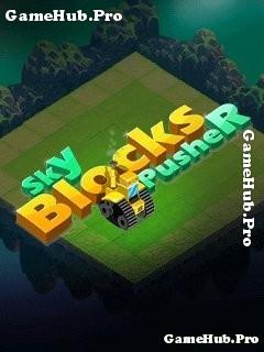 Tải game Sky Blocks Pusher - Lái xe lấp hố bom Java