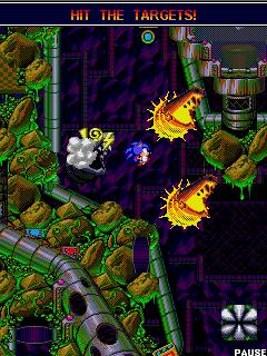 Tải game Sonic Spinball - Nhập vai Sonic phá hủy cho Java