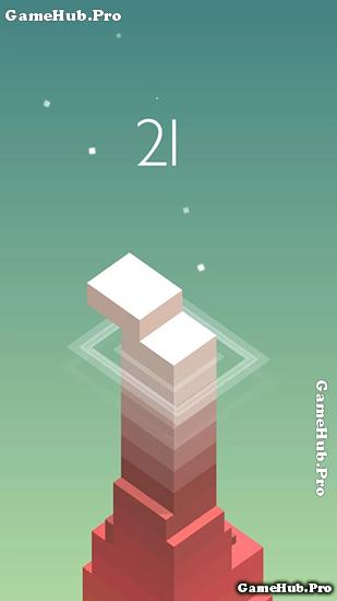 Tải game Stack - xếp hình khối vượt thử thách Android