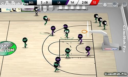 Tải game Stickman Basketball 2017 - Bóng Rổ Mod Android