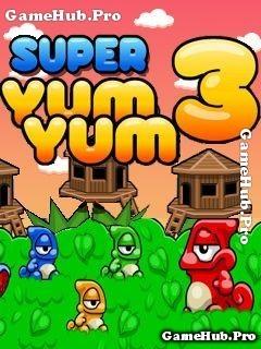 Tải game Super Yum Yum 3 - Chú Ếch Phiêu Lưu cho Java