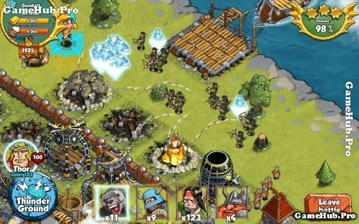Tải game Vikings Gone Wild - Chiến thuật Mod cho Android