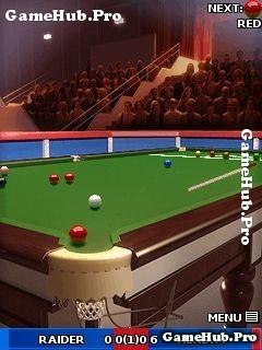 Tải game World Snooker 2010 - Bi-A chuyên nghiệp Java