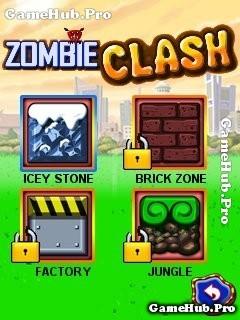 Tải game Zombie Clash - Cuộc phiêu lưu về nhà cho Java