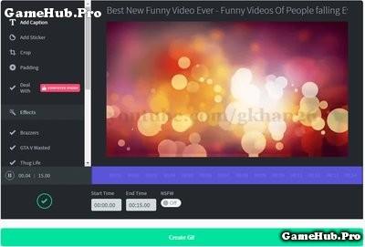 Hướng dẫn tạo ảnh động từ Video trên Youtube dễ dàng