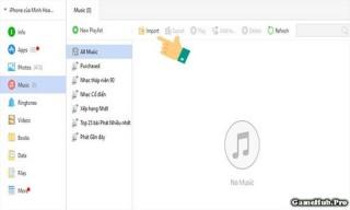 Cách sao chép nhạc từ máy tính qua iPhone bằng 3uTools