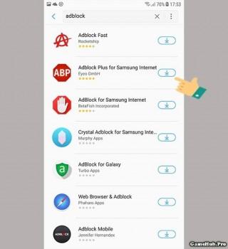 Mẹo chặn quản cáo trên Samsung Internet dễ dàng