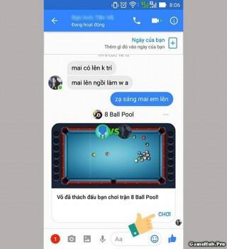 Thủ thuật mời nhau chơi game ngay trên Facebook Messenger