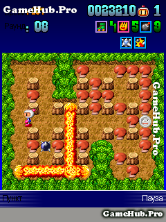 Tải game Bomberman Deluxe - Robot Đặt Boom huyền thoại