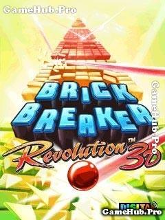 Tải game Brick Breaker Deluxe 3D - Phá gạch đẹp mắt Java
