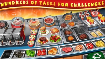 Tải game Cooking Chef - Đầu bếp điên Hack Money Android