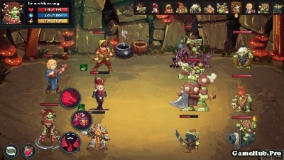 Tải game Dungeon Rushers - Nhập vai RPG Hack Money Android