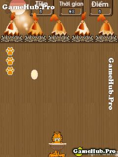 Tải game Hứng Trứng - Chú mèo tham ăn cho Java