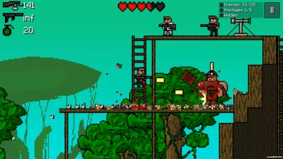 Tải game Pixel Force 2 - Bắn súng qua màn Hack tiền Android