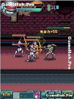 Tải game Super Teenage Mutant Ninja Turtles 4 - Ninja Rùa
