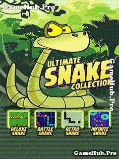 Tải game Ultimate snake collection - Con rắn 4 in 1 cho Java
