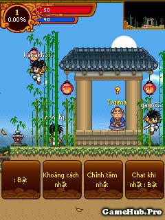 Hack Ninja School 116 v4.3 Auto Nhặt Cho Java Android