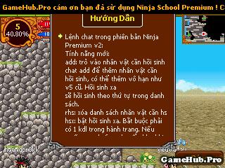 Hack Ninja School Online 116 Premium Cho Java Android