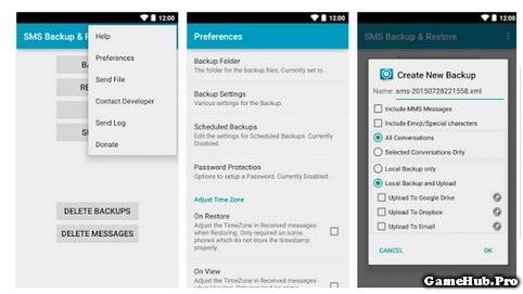 Cách khôi phục tin nhắn bị xóa trên máy Android