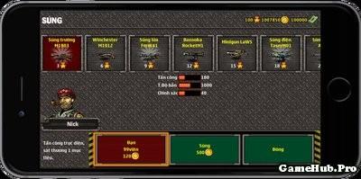 Hướng dẫn mua súng và đạn trong game XForce Online