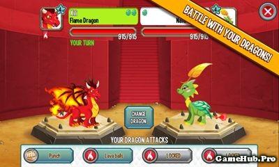Tải Game Dragon City Apk Cho Android Nuôi Rồng
