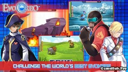 Tải Game EvoCreo Hack Full Tiền Cho Android mới nhất
