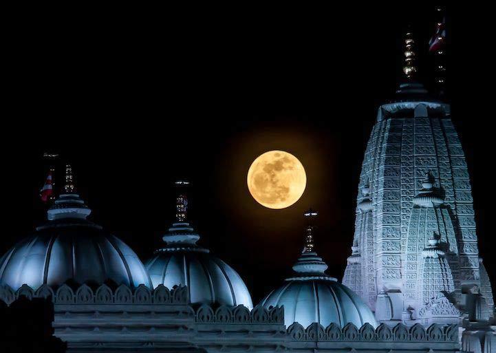 Hình ảnh đẹp nhất của siêu trăng lớn nhất thế kỷ HD
