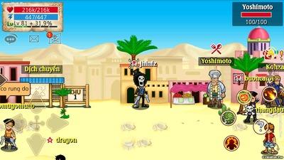 Một số hình ảnh Map mới phiên bản 030 game HTTH
