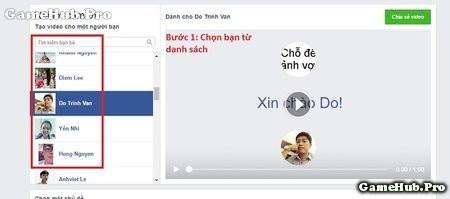 Hướng dẫn tạo video cám ơn trên Facebook nhanh chóng
