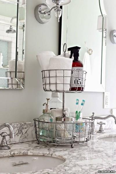 Những mẹo làm sạch nhà tắm một cách nhanh chóng nhất