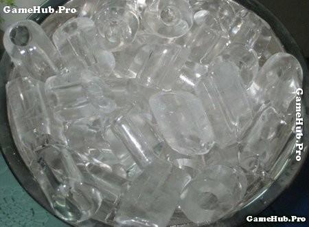 Nước đá dễ nhiễm khuẩn gây nhiều bệnh cho con người
