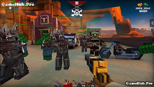 Tải game Pixelfield - Bắn súng Mod full tiền cho Android