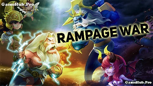 Tải game Rampage War - Nhập vai chiến thuật Mod Android
