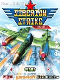 Tải game Siberian strike - Bắn máy bay bởi Gameloft Java