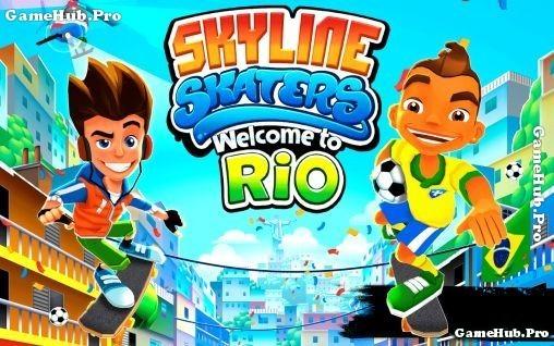 Tải game Skyline Skaters - Chạy trốn vô tận Hack tiền