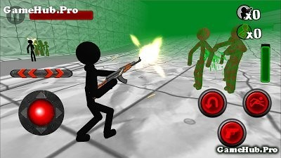 Tải game Stickman Zombie 3D - Người Que diệt Zombie Android
