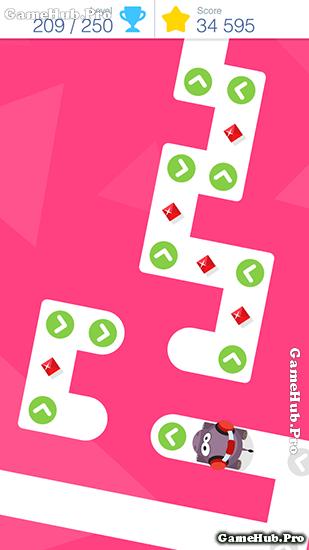 Tải game Tap Tap Dash - Chạm di chuyển con trùng Mod tiền