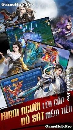 Tải game Thiên Thư VTC - Farm người lên cấp đầu tiên